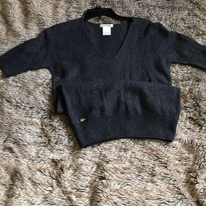 Lacoste tunic sweater